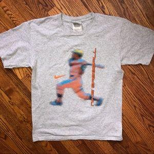 Nike baseball shirt...Size L
